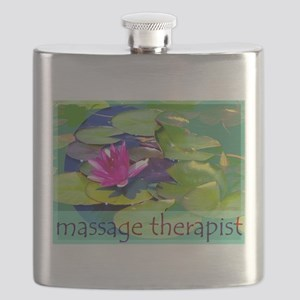 Massage Therapist / Waterlily Flask