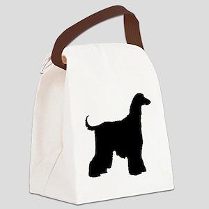 afghan black Canvas Lunch Bag