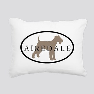 taupe jensen airedale oval Rectangular Canvas