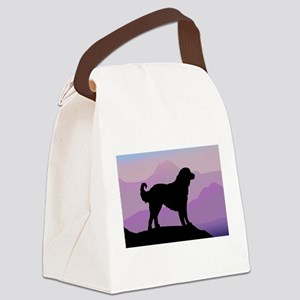 Bags. akbash dog purple mountains wd Canvas Lunch Ba 1380f0e5c5128