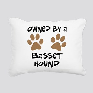 basset hound Rectangular Canvas Pillow