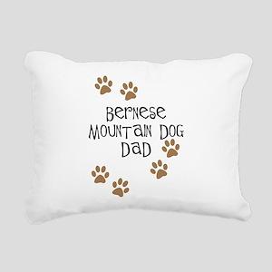 bernese dad Rectangular Canvas Pillow