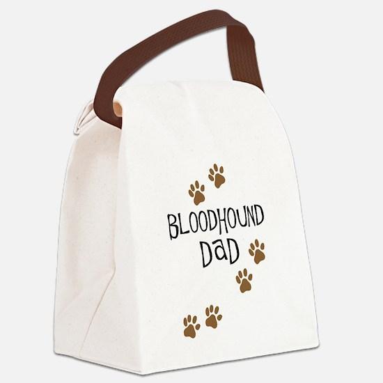 Bloodhound Dad Canvas Lunch Bag