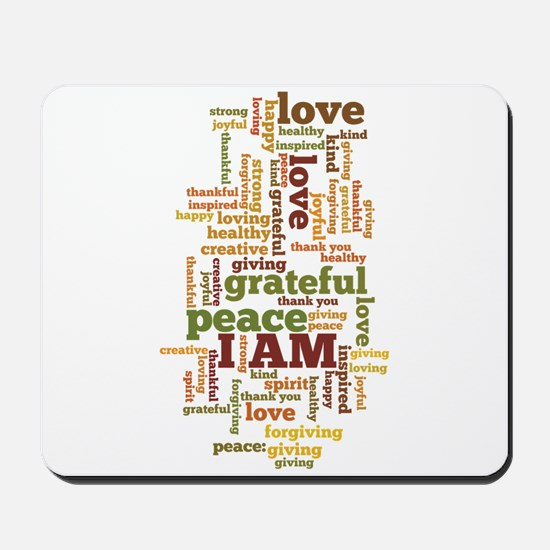 I AM Affirmations Mousepad