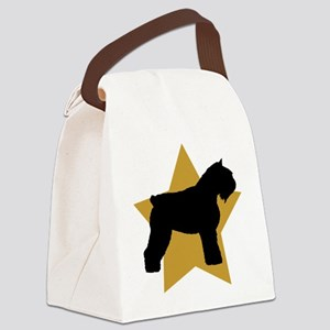 gold star bouvier Canvas Lunch Bag