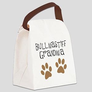 Bullmastiff Grandma Canvas Lunch Bag