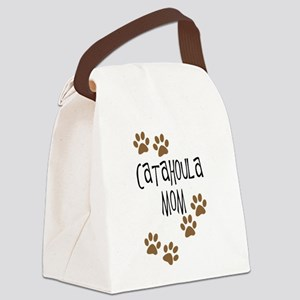 catahoula mom 4 Canvas Lunch Bag