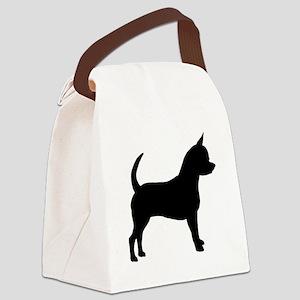 Chihuahua Canvas Lunch Bag