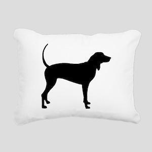 Coonhound Rectangular Canvas Pillow