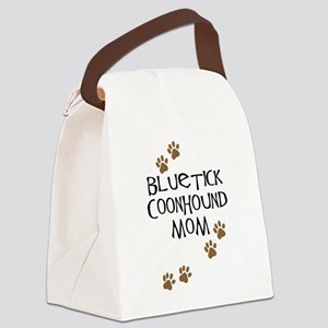 bluetick coonhound mom Canvas Lunch Bag
