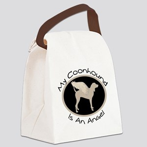 coonhound is an angel Canvas Lunch Bag