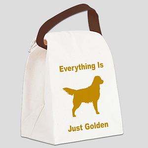 just golden dkr Canvas Lunch Bag