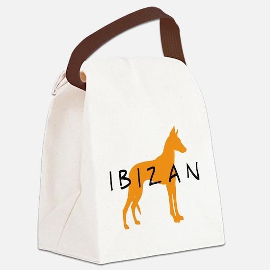 ibizan gold dog.jpg Canvas Lunch Bag