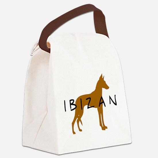 ibizan brown dog.jpg Canvas Lunch Bag