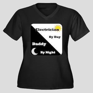 Electrician by day Daddy by night Women's Plus Siz