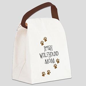 irish wolfhound mom Canvas Lunch Bag