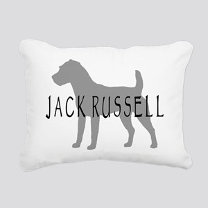 jack russell terrier dog grey orn Rectangular