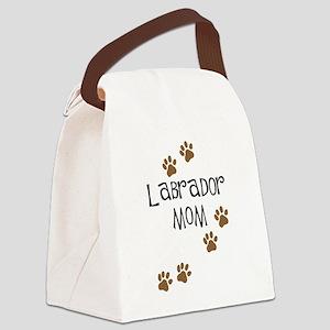 Labrador Mom Canvas Lunch Bag