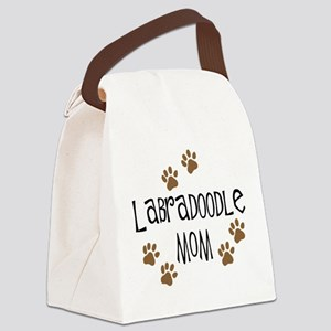 3-labradoodle mom Canvas Lunch Bag