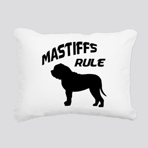 mastiffs rule Rectangular Canvas Pillow