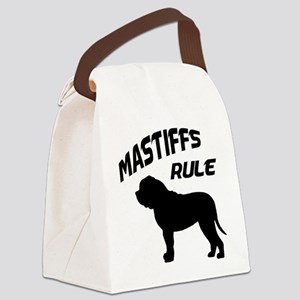 mastiffs rule Canvas Lunch Bag