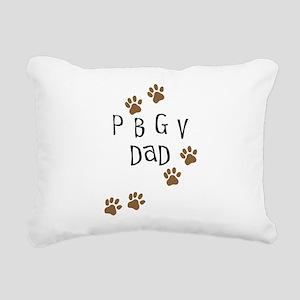 pbgv dad Rectangular Canvas Pillow