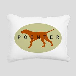pointer sage orn2 Rectangular Canvas Pillow