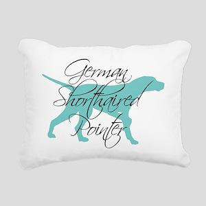 Elegant Teal GSP Rectangular Canvas Pillow