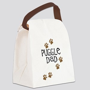 puggle dad Canvas Lunch Bag