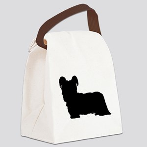 Skye Terrier Canvas Lunch Bag
