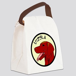 vizsla profile Canvas Lunch Bag