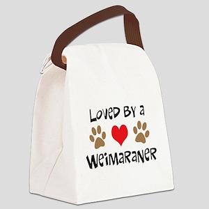 4-3-weimaraner Canvas Lunch Bag