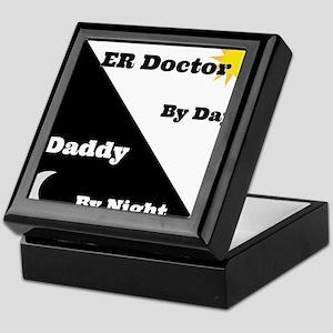 ER Doctor by day Daddy by night Keepsake Box