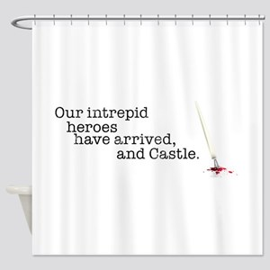 Our intrepid heroes Shower Curtain