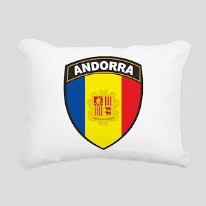 Andorra Rectangular Canvas Pillow