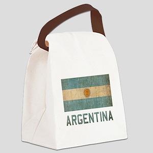 Vintage Argentina Canvas Lunch Bag