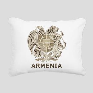 Vintage Armenia Rectangular Canvas Pillow