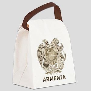 Vintage Armenia Canvas Lunch Bag