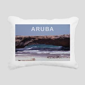 Aruba Rectangular Canvas Pillow