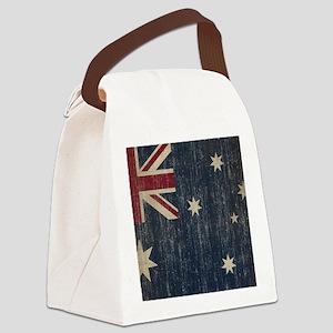 Vintage Australia Flag Canvas Lunch Bag
