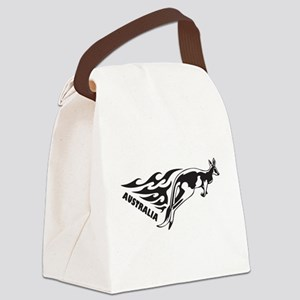 Australia Kangaroo Canvas Lunch Bag