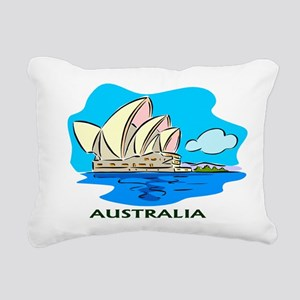 Australia Sydney Opera House Rectangular Canvas Pi