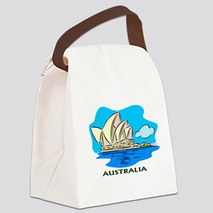 Australia Sydney Opera House Canvas Lunch Bag