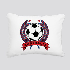 Australia Soccer Rectangular Canvas Pillow