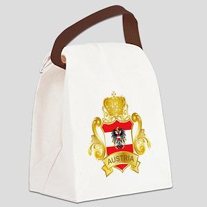 Gold Austria Canvas Lunch Bag