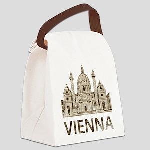 Vintage Vienna Canvas Lunch Bag