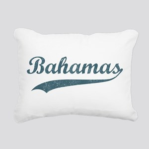 Vintage Bahamas Rectangular Canvas Pillow