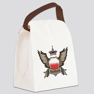 Bahrain Emblem Canvas Lunch Bag