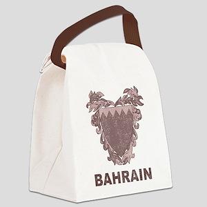 Vintage Bahrain Canvas Lunch Bag