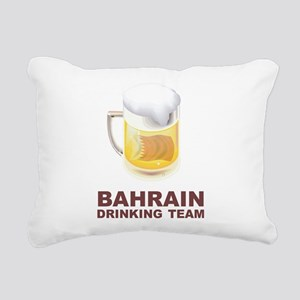 Bahrain Drinking Team Rectangular Canvas Pillow